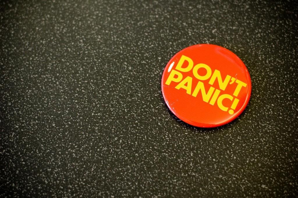 Don't Panic, address climate change