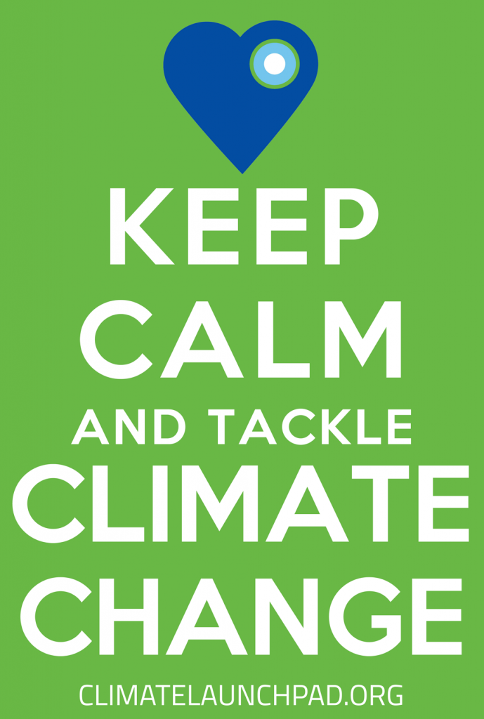 Keep Calm and Tackle Climate Change
