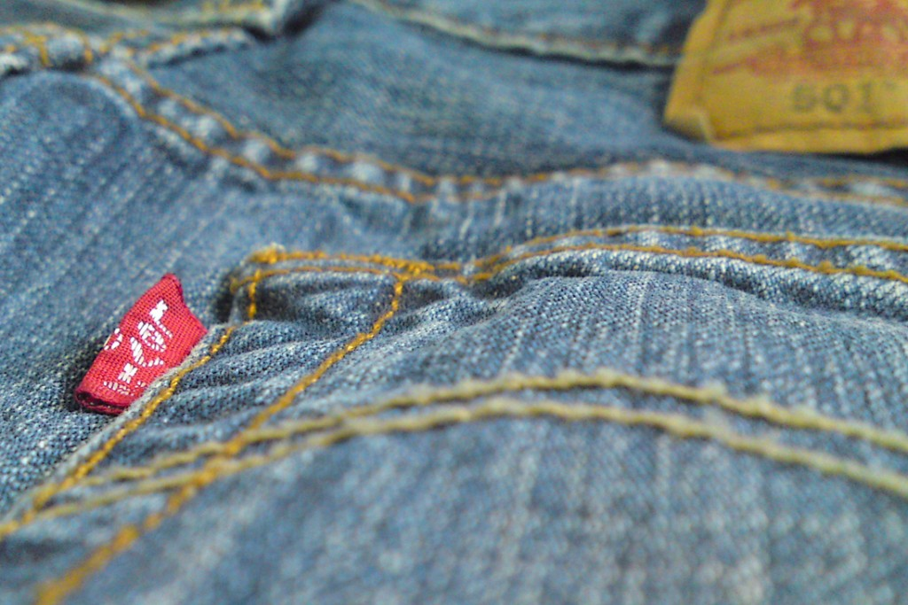 Jeans are good business. Photo by Blake Burkhart - Flickr, CC BY 2.0, https://commons.wikimedia.org/w/index.php?curid=44401478